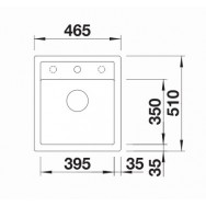 Bosch PCQ7A5M90 75 cm, Gas hob with integrated controls, Stainless steel